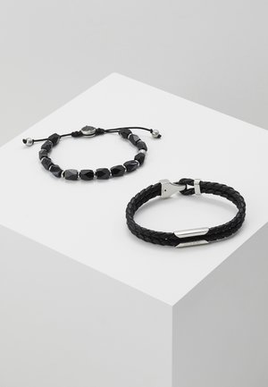 STACKABLES SET - Bransoletka - black