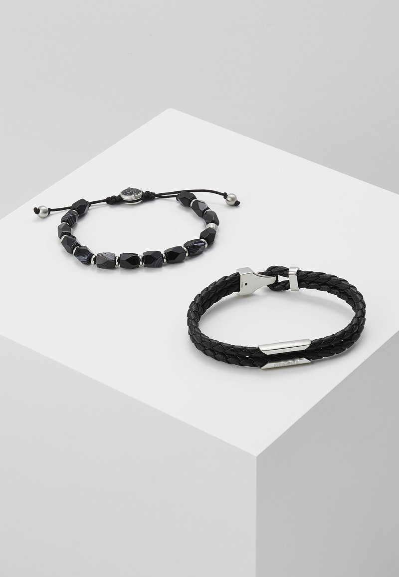 Diesel - STACKABLES SET - Bracelet - black