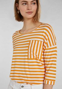 Oui - Long sleeved top - white yellow/or - 3