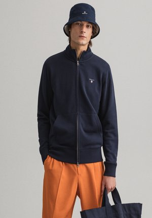 Zip-up hoodie - evening blue