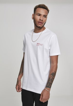 HERREN THAT NOISE TEE - T-shirt med print - white