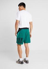 Reebok - ONE SERIES TRAINING SHORTS - Sports shorts - green - 2