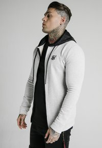 SIKSILK - ZIP THROUGH HOODIE - Sudadera con cremallera - grey - 0