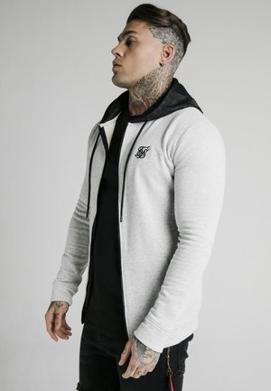 ZIP THROUGH HOODIE - Hoodie met rits - grey