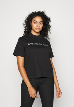 PLUS SHADOW LOGO TEE - T-shirts print - black