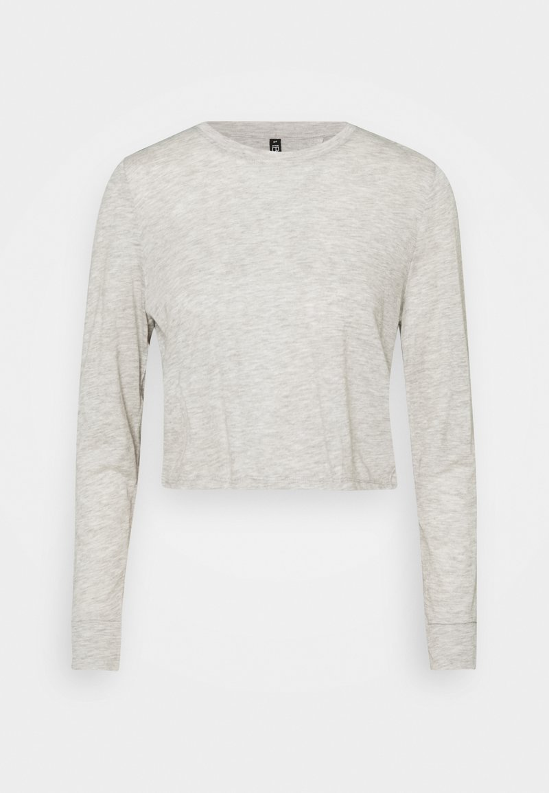 Cotton On Body - LIFESTYLE LONG SLEEVE - Long sleeved top - grey marle