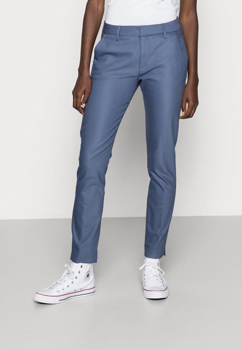 Mos Mosh - ABBEY PANT  - Trousers - indigo blue