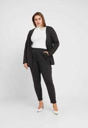 JRRACHEL TROUSERS - Trousers - dark grey melange