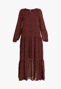 Vero Moda - VMROBERTA ANCLE DRESS - Maxi dress - port royale/brick dust - 5