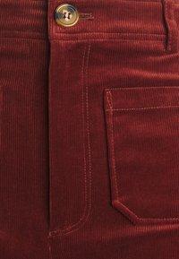 King Louie - GARBO POCKET PANTS CORDUROY - Trousers - sandelwood brown - 2