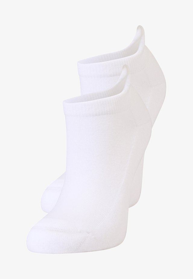 ONLY PLUSH 2 PACK - Socks - white