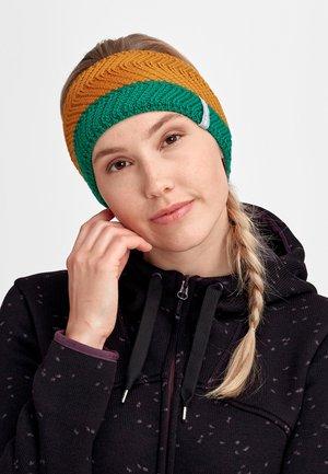 LA LISTE - Ear warmers - deep emerald-tumeric