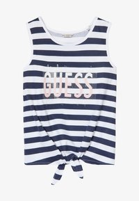 Guess - STRIPES - Top - white and blue strip - 3