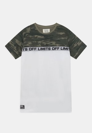 TEENAGER - T-shirt print - white