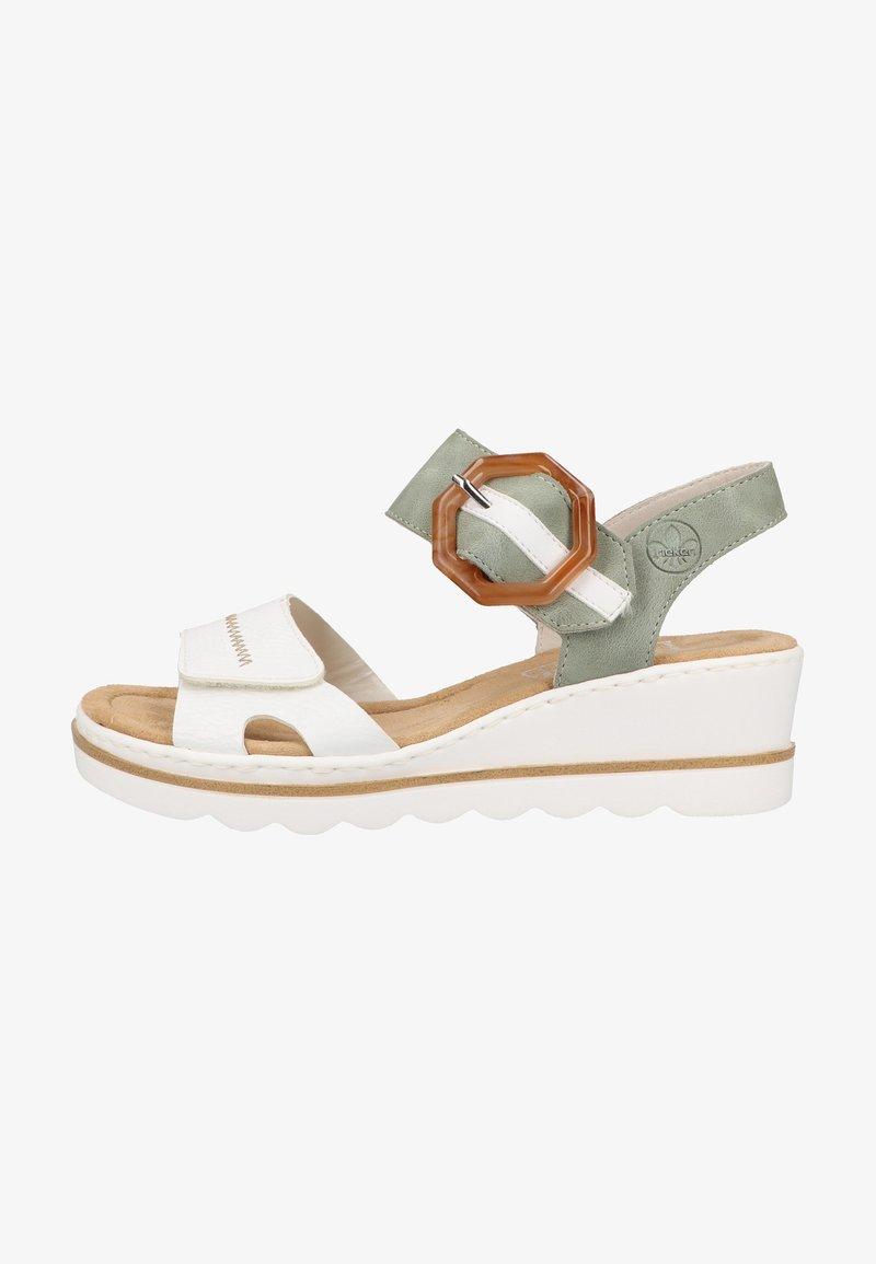 Rieker - Platform sandals - white