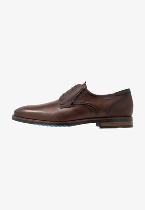 VANSTONE - Smart lace-ups - tobacco/pacific