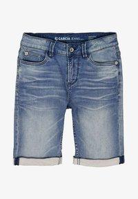 Garcia - TAVIO  - Denim shorts - blue - 0