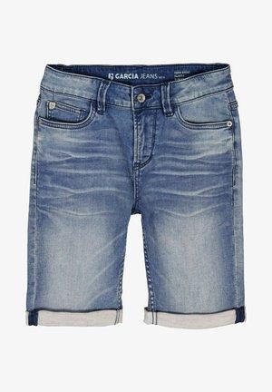 TAVIO  - Jeans Short / cowboy shorts - blue