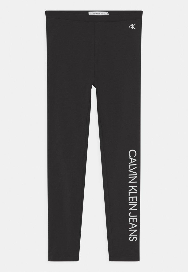 Calvin Klein Jeans - LOGO - Leggings - black