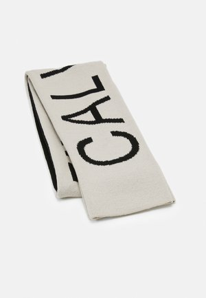 INSTITUTIONAL LOGO SCARF UNISEX - Scarf - black