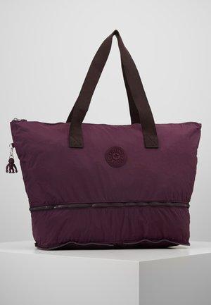 IMAGINE PACK - Tote bag - dark plum