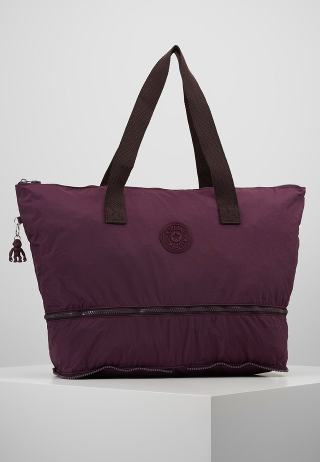 IMAGINE PACK - Tote bag - dark plum