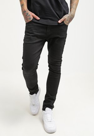 Jeansy Slim Fit - black denim