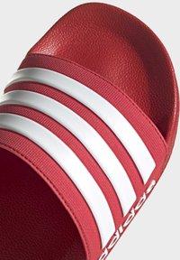 adidas Performance - SHOWER ADILETTE - Chanclas de baño - red - 7