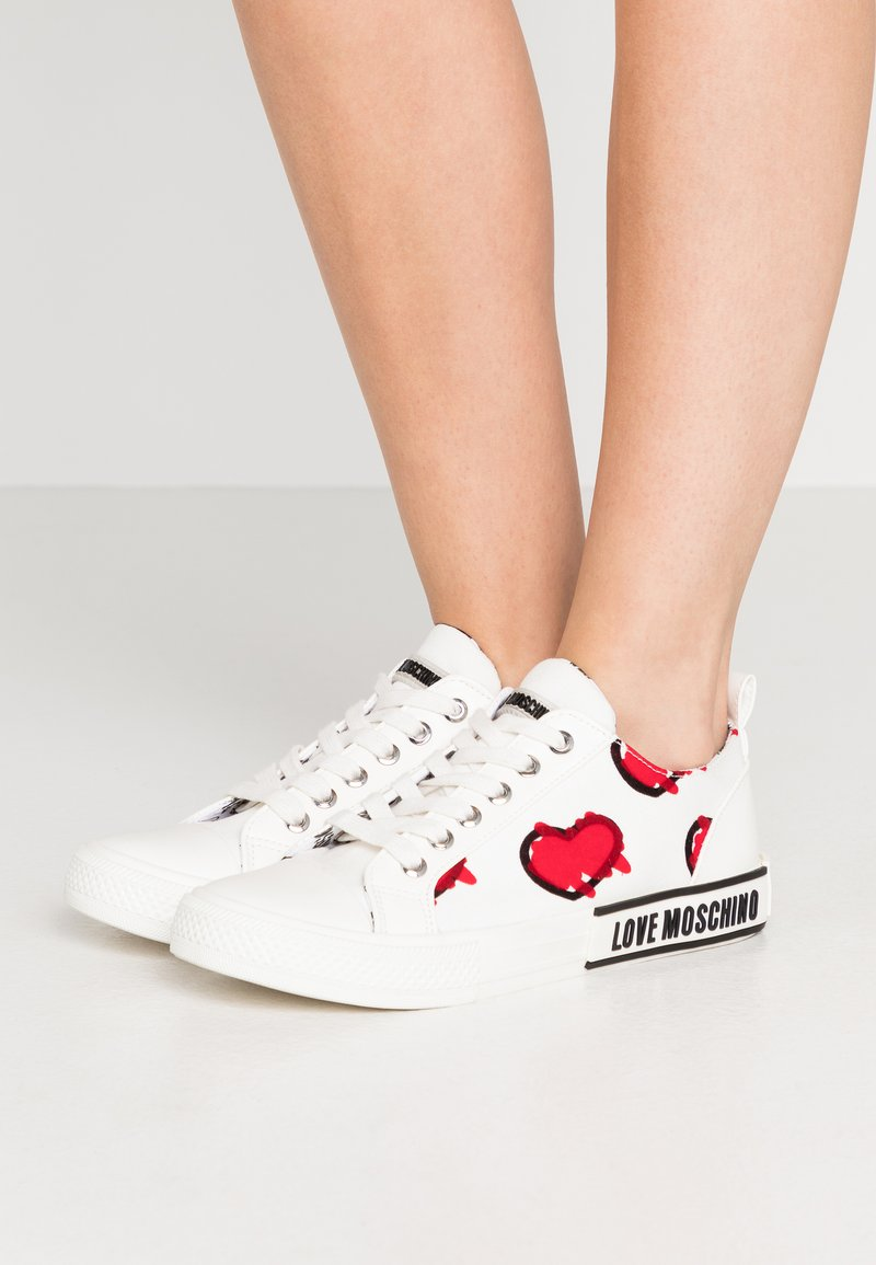 Love Moschino - LABEL SOLE - Zapatillas - white