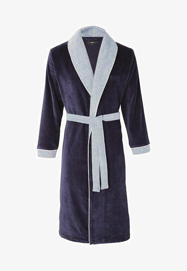 BADEMANTEL - Dressing gown - navy