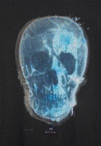 PS Paul Smith - MENS SLIM FIT SKULL - Print T-shirt - black - 7