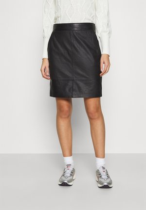 FRANCIE MINI SKIRT - Pencil skirt - black