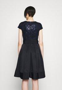 Lauren Ralph Lauren - ZIARAH CAP SLEEVE DRESS - Cocktail dress / Party dress - lighthouse navy - 2