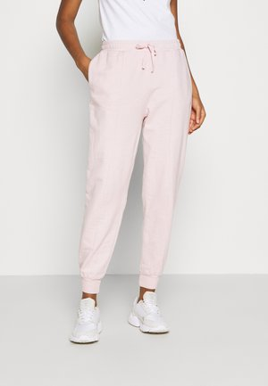 ACID WASH JOGGER - Tracksuit bottoms - pink