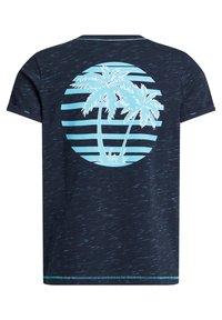 WE Fashion - Print T-shirt - dark blue - 6