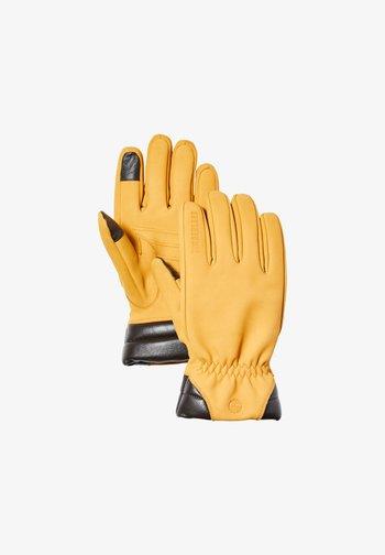 Gloves - wheat