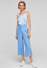s.Oliver - Trousers - light blue - 1