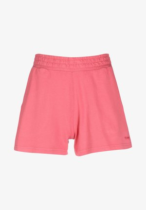 Shorts - blush red