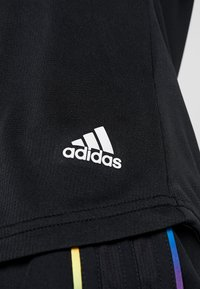 adidas Performance - THE RUN TEE - Print T-shirt - black - 6