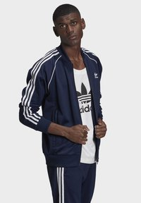 adidas Originals - ADICOLOR CLASSICS PRIMEBLUE SST TRACK TOP - Träningsjacka - blue - 3