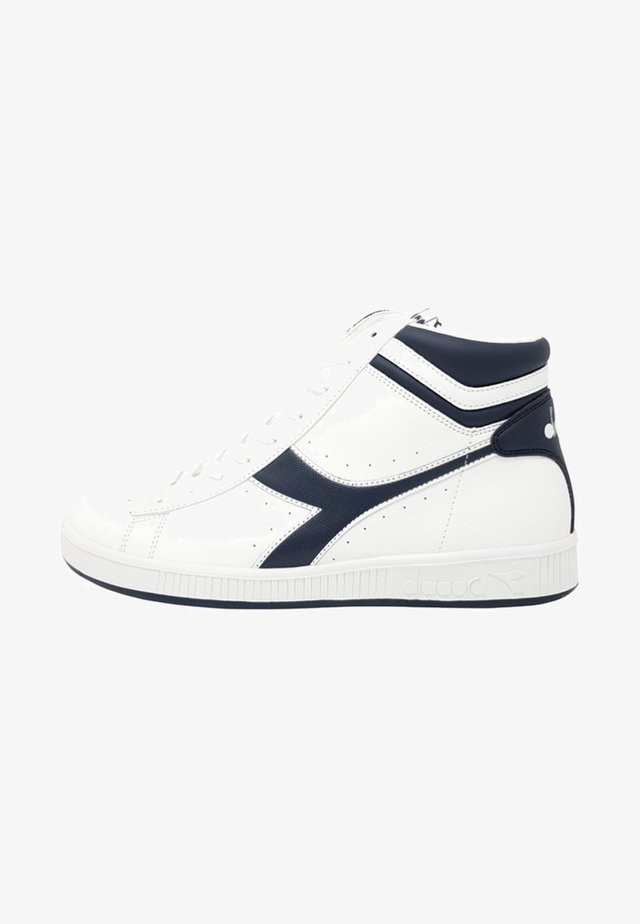 GAME - Sneakers alte - white/blue
