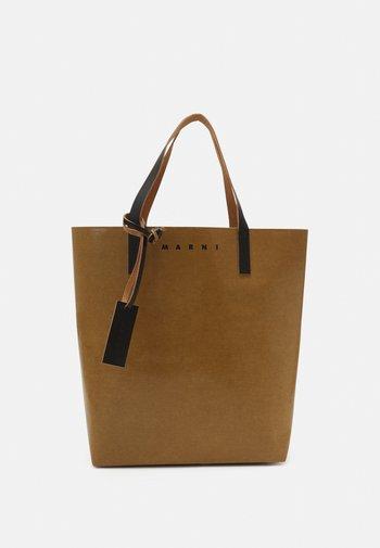 TRIBECA UNISEX - Tote bag - cement/black