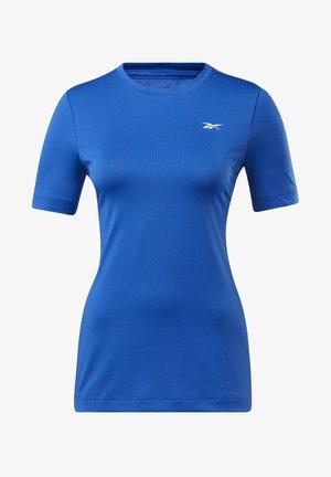 WORKOUT READY SUPREMIUM TEE - T-shirts basic - blue