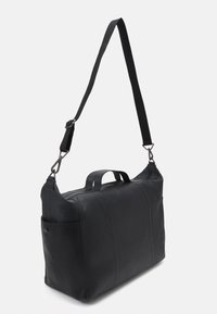 Zign - LEATHER UNISEX - Weekend bag - black - 1
