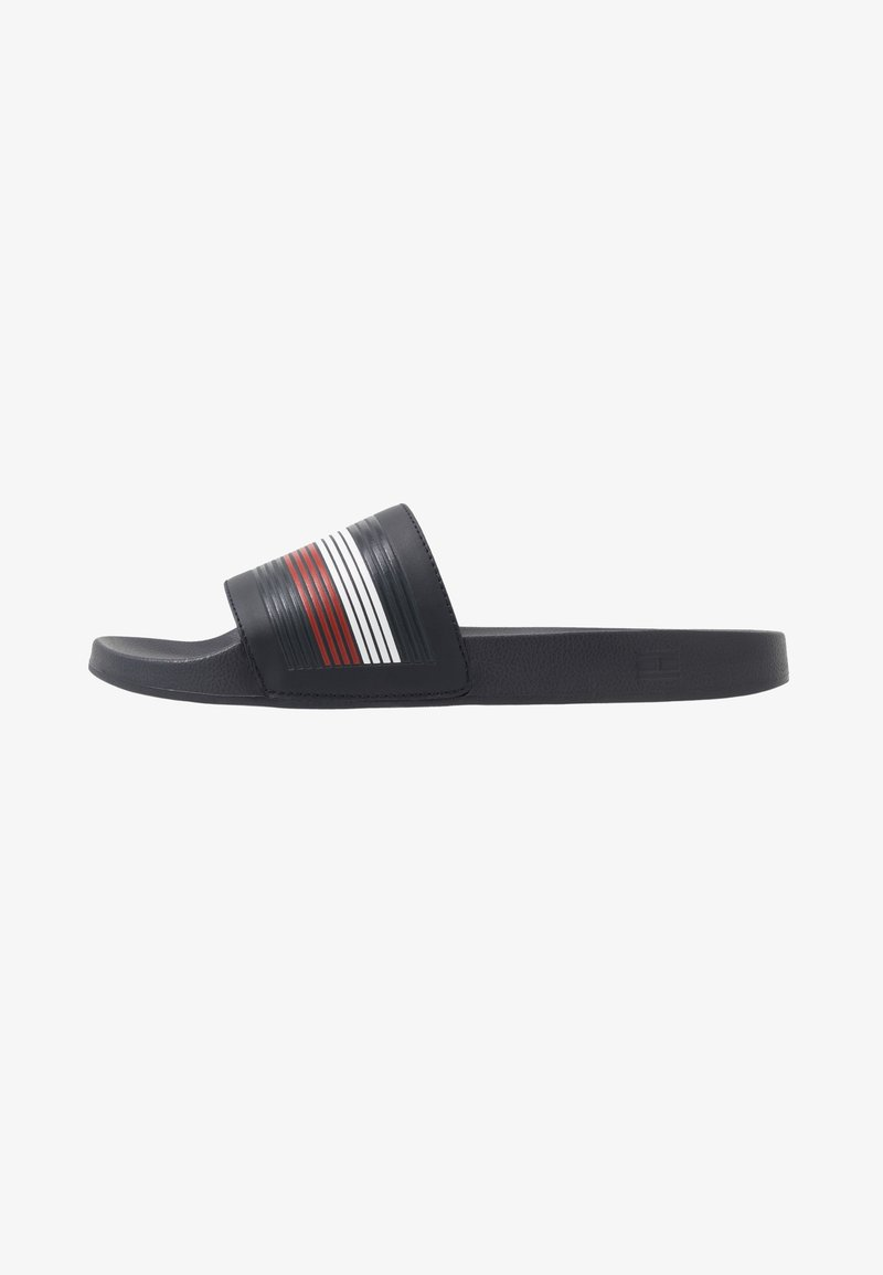 Tommy Hilfiger - SEASONAL POOLSLIDE - Pantofle - blue
