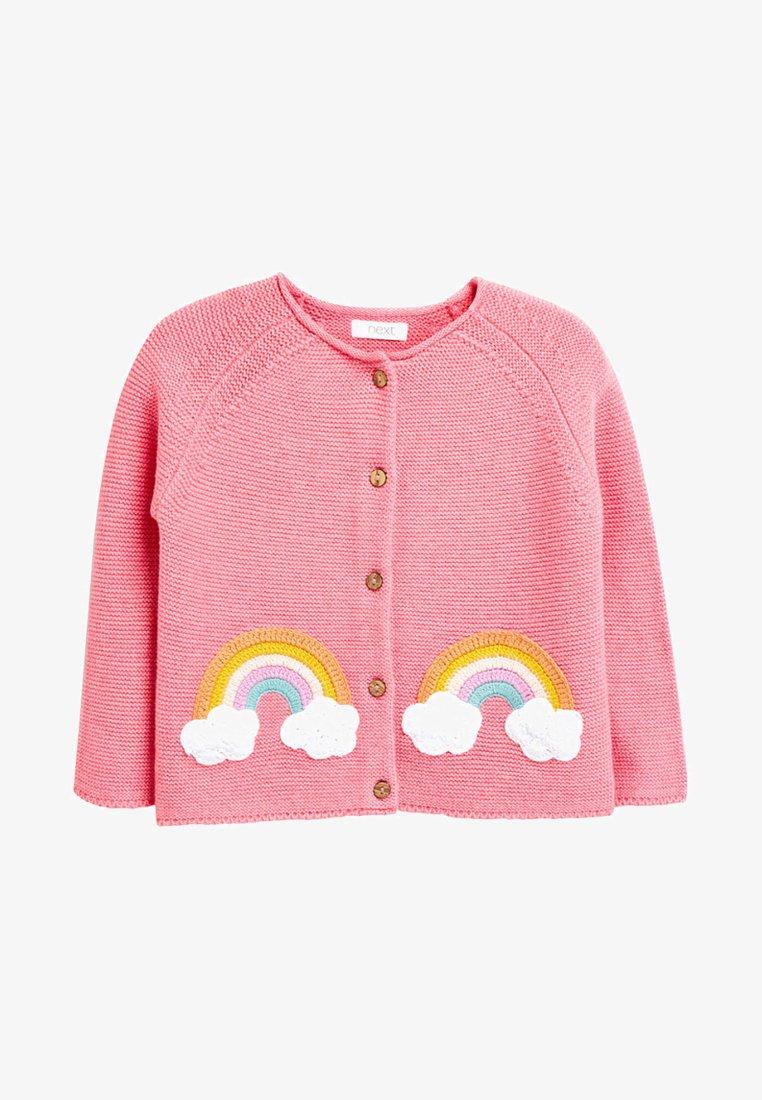 Next - RAINBOW - Cardigan - pink