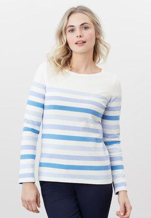 HARBOUR - Long sleeved top - cremefarben streifen