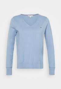 Tommy Hilfiger - NOLAA - Sweter - moon blue - 4