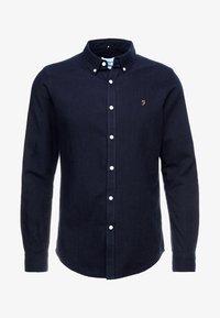 Farah - BREWER SLIM FIT - Shirt - mid indigo - 3
