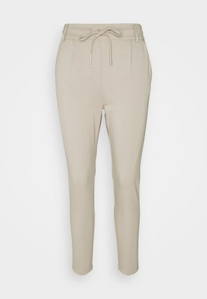 ONLPOPTRASH EASY COLOUR PANT - Trousers - pure